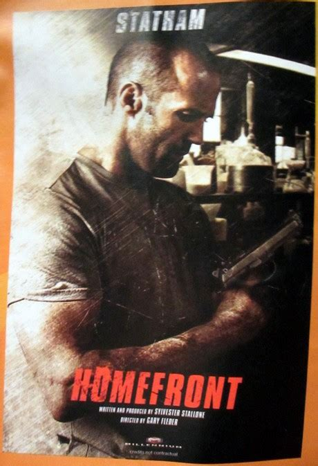 jason statham football film sylvester stallone scripted homefront with jason statham