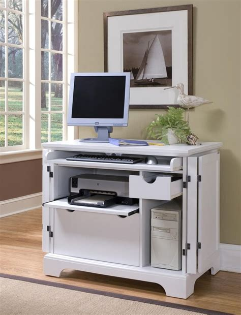 Computer Desk Armoire White Computer Armoire Desk Best Home Design 2018
