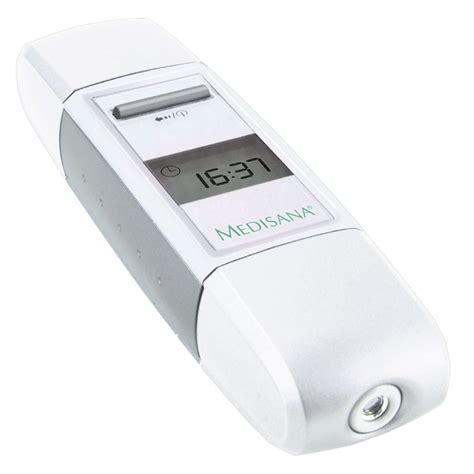 Thermometer Digital Infrared vidaxl co uk medisana digital infrared thermometer white