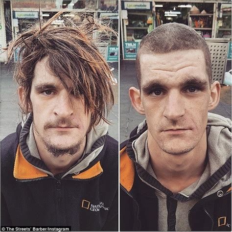 haircuts homeless the streets barber nasir sobhani spends day cutting the