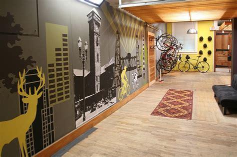 Lowes Wall Murals industrial bike rack auto hobby