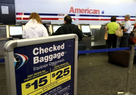 american airlines checked bag fee image gallery delta baggage