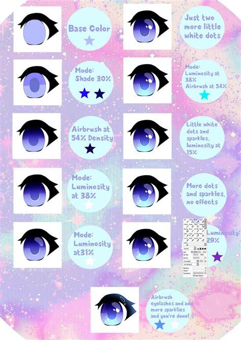 draw anime paint tool sai tutorial paint tool sai anime eye tutorial by harakissu on deviantart