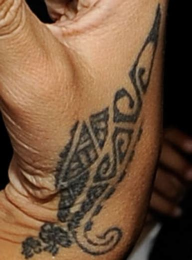rihanna wrist tattoo tattoos for for for tumble words