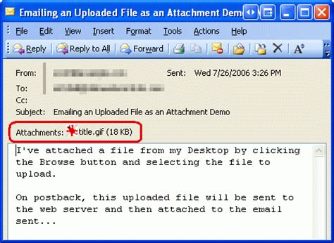 format email with attachment sending email in asp net 2 0 html formatted emails