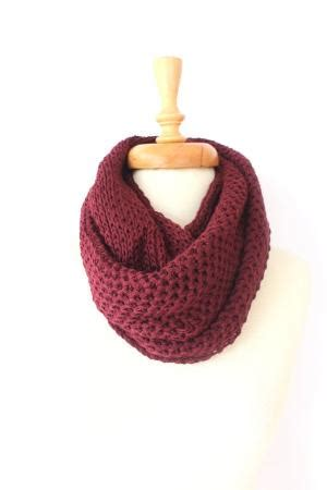 Brd Cowl Grey pattern only basic chunky infinity scarf by