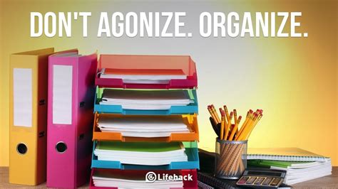 organize or organise why quot to do quot lists don t work and how to change that