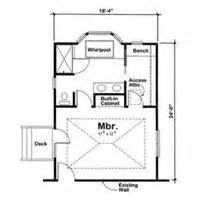 Bedroom And Bathroom Addition Floor Plans by 1000 Images About Baths On Pinterest Master Bath Layout