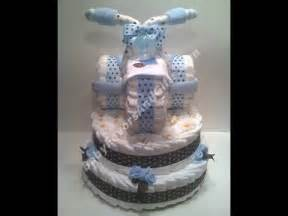 tricycle diaper cake baby shower gift ideas youtube