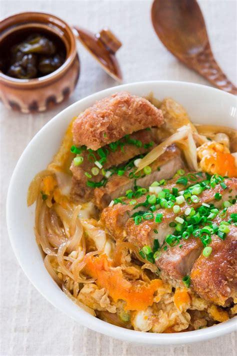 Katsudon Recipe (Pork Cutlet Rice Bowl)   Delicious Techniques