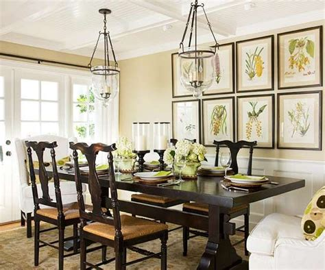 The Botanical Dining Room by Dining Rooms Botanical Prints And Light Fixtures On