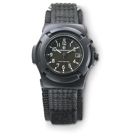 smith wesson 174 lawman black 150299 watches at