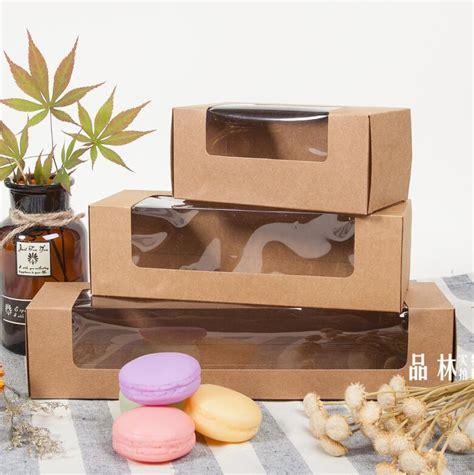 Packing Plastik Bungkus Cookies Cake Bread Packaging Kertas Sovenir aliexpress buy oem pvc plastic window gift cake dessert box package for wedding paper cake