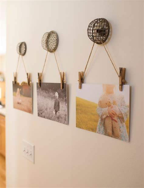 to hang pictures on wall best 25 display family photos ideas on family