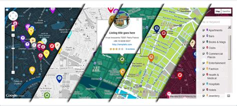 themes wordpress google maps map customizer plugin to change the google map color scheme