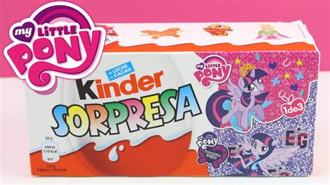 Kinder My Pony huevo kinder sorpresa my pony en espa 241 ol my