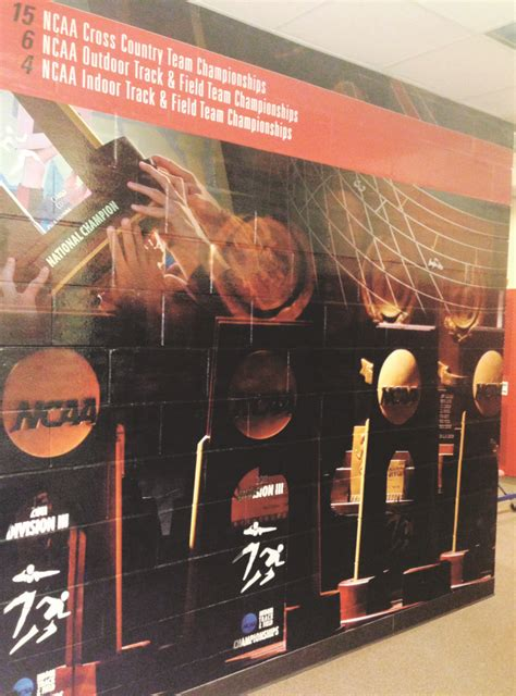 Track And Field Room Decor by Locker Rooms Get An Update With Personalized Decals