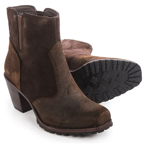 cowboy ankle boots womens woolrich kiva western ankle boots for
