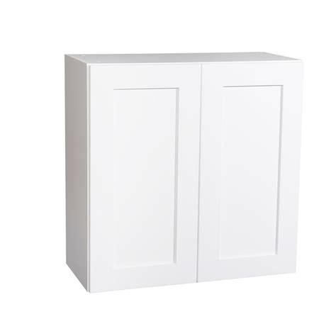 white shaker kitchen cabinets with soft close doors krosswood doors ready to assemble 36x30x13 in shaker 2