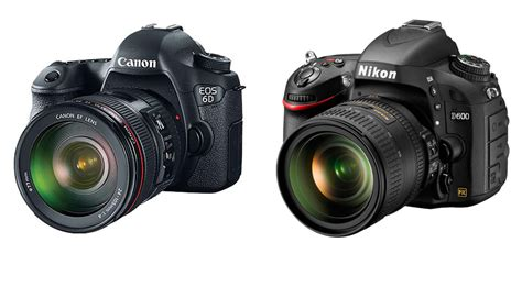 canon or nikon nikon d600 or canon 6d question benjamin kanarek