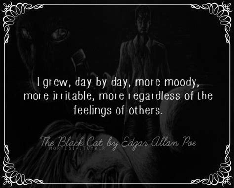 the black cat by edgar allan poe adapted text first the black cat by edgar allan poe words to live by