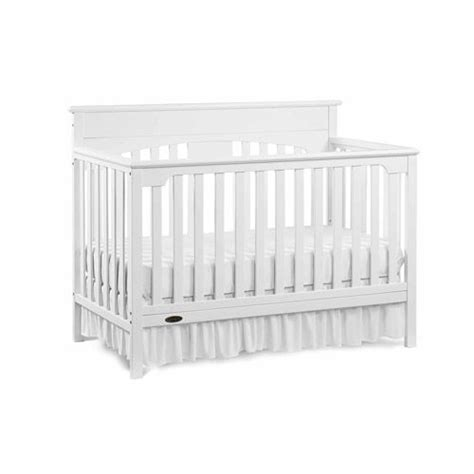 White Graco Convertible Crib Graco Signature Convertible Fixed Side Convertible Crib Classic White Nursery Furniture