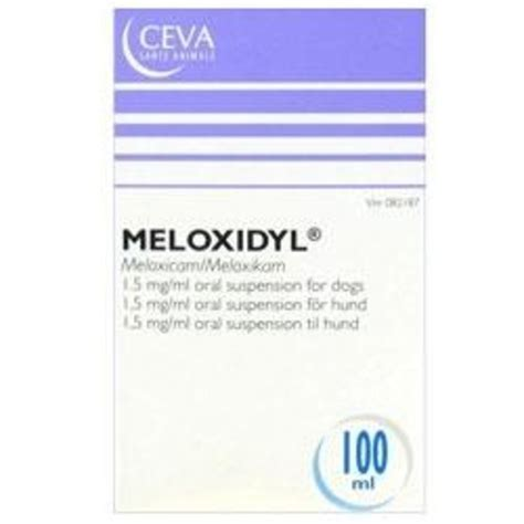 meloxidyl for dogs meloxidyl suspension 100ml for dogs chemist direct