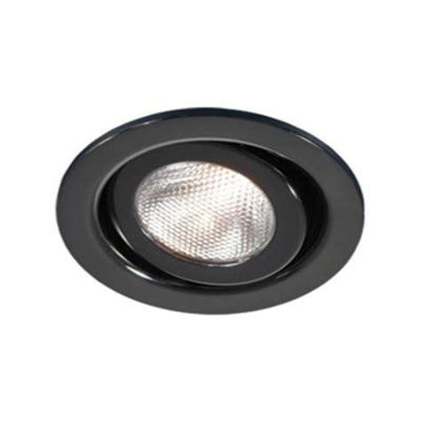 Halogen Recessed Light Fixtures Bazz 500 Series 4 In Black Chrome Recessed Halogen Light