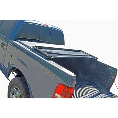tri fold truck bed covers tonneau cover soft tri fold for dodge dakota pickup truck