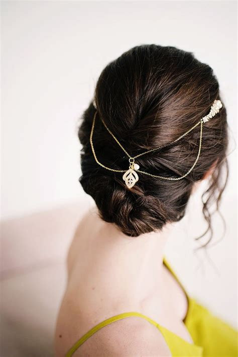 Wedding Hairstyles Pulled Back by 50 Best Bridal Hairstyles Without Veil Emmaline