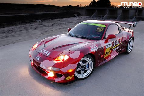 mazda rotary racing rotary run racing headlights rx7club