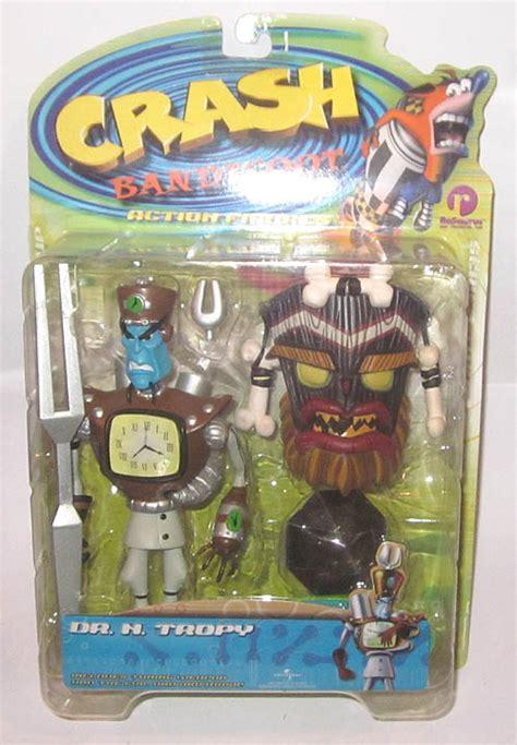 n tropy figure resaurus crash bandicoot dr n tropy figure carded