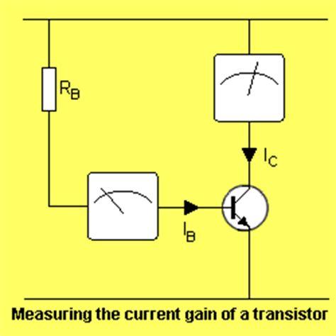 transistor gain poptronics hfe