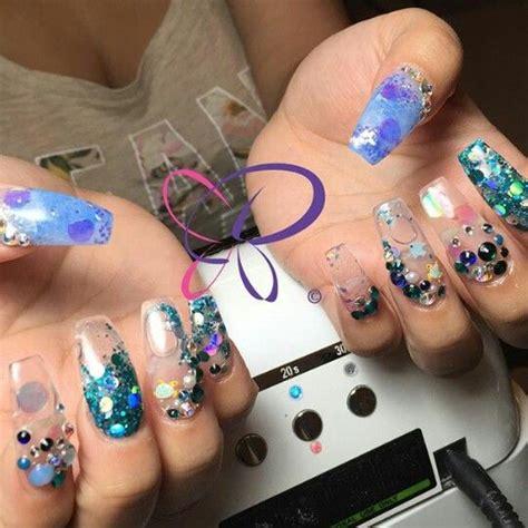 aquarium nail art tutorial aquarium nails nails pinterest aquarium nails and