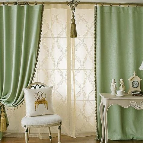 green color curtains green living room curtains