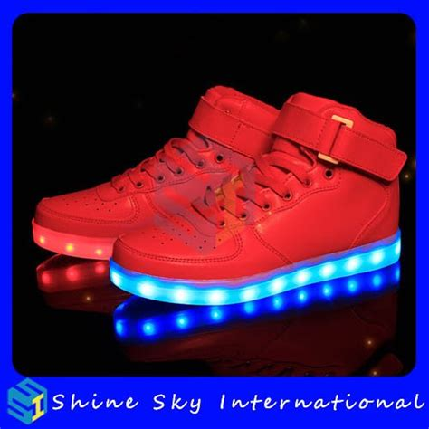 wholesale brand new led shoes india usb rechargeable led