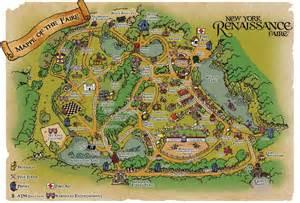 renaissance festival map map of the faire new york renaissance faire