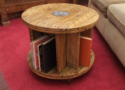 Table Handmade - handmade reclaimed wood coffee table bookcase by