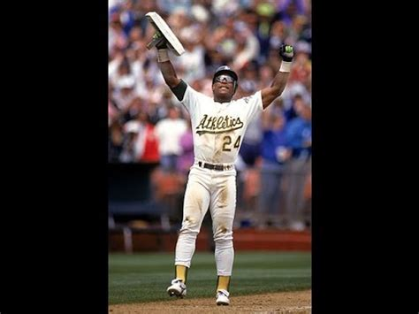 Henderson Records Rickey Henderson Sets All Time Stolen Base Record 1991