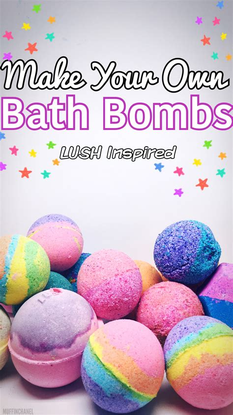 how to make diy lush bath bombs without citric acid make your own bath bombs lush inspired muffinchanel