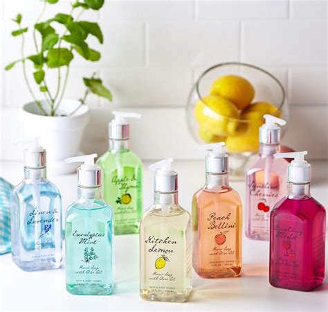 bath and body works bath and body works launched adorable rainbow hand soaps