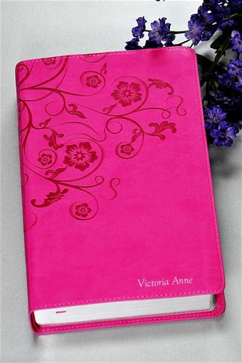 niv gift bible for softcover large print pink books niv womens devotional bible pink floral celebrate faith