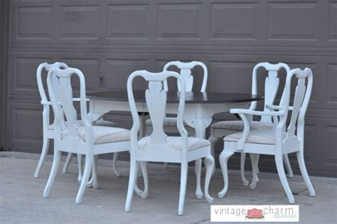 White Shabby Chic Dining Table And Chairs Shabby Chic White Dining Table And Chairs