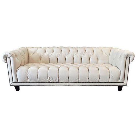 Pre Owned Chesterfield Sofa 17 Best Ideas About White Leather Sofas On Pinterest White Leather Couches Leather Sofa