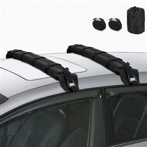 Soft Car Roof Racks by Self Inflating Car Roof Soft Racks 2pcs Kayak Canoe