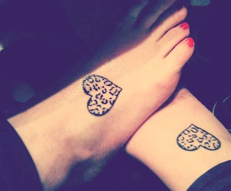 best friend heart tattoos friendship tattoos and designs page 162