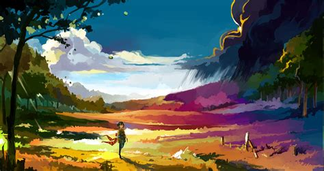 wallpaper hd anime landscape colorful anime wallpaper 50 wallpapers hd wallpapers