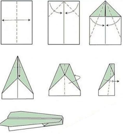 Pictures Of How To Make A Paper Airplane - how to make a paper airplane 11 ways how2db how