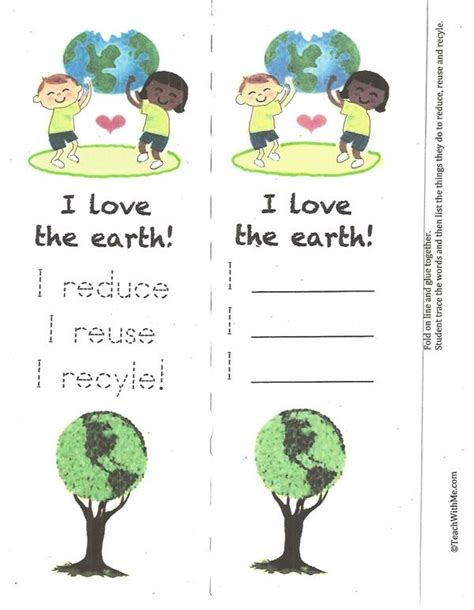 printable recycling bookmarks 10 best montessori celebration of life images on pinterest