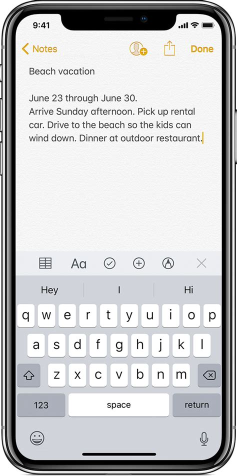use notes on your iphone and ipod touch apple support